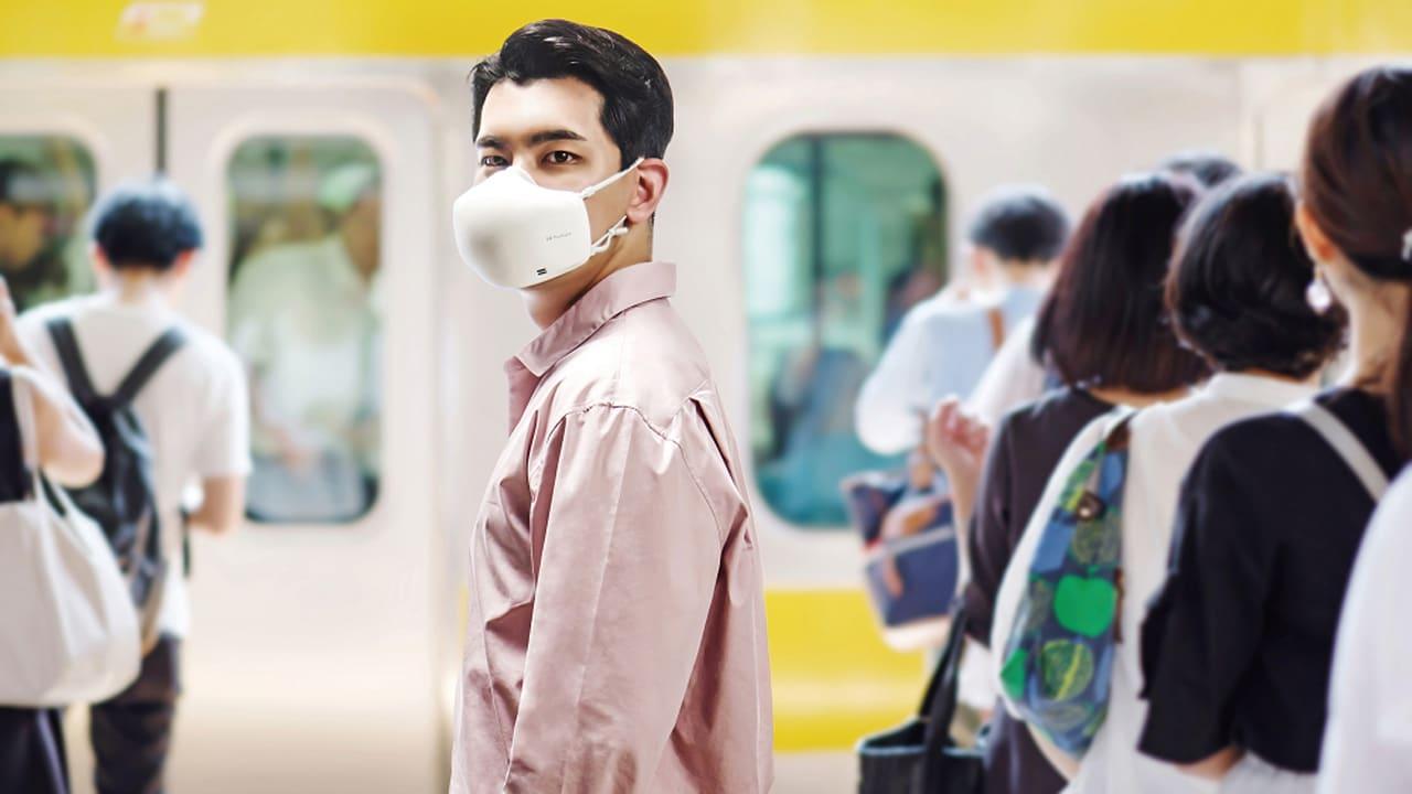 LG aggiorna la sua mascherina che purifica l'aria thumbnail