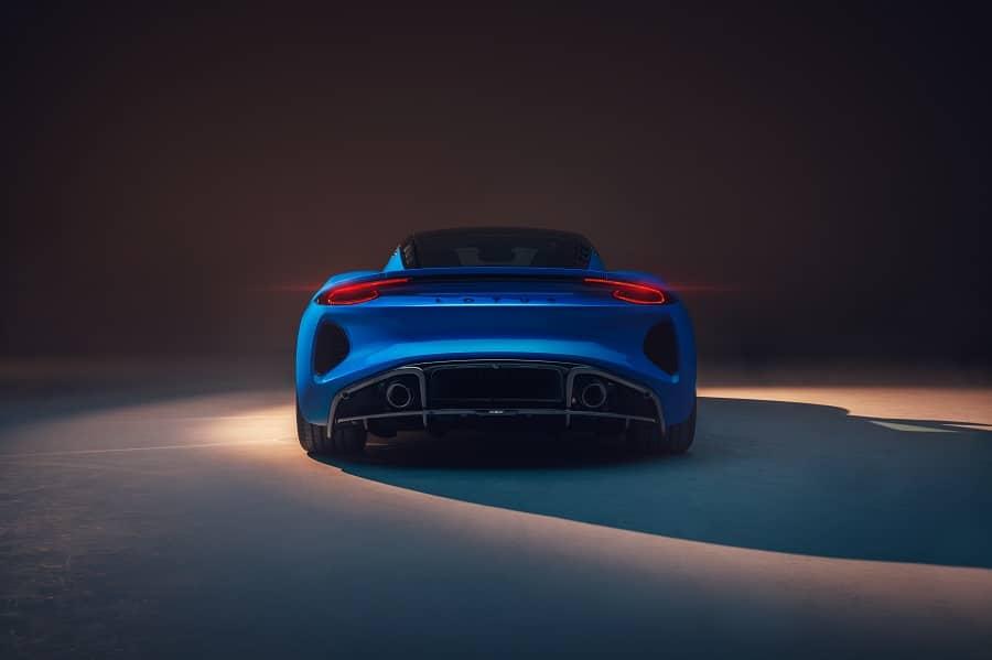 Lotus Emira posteriore