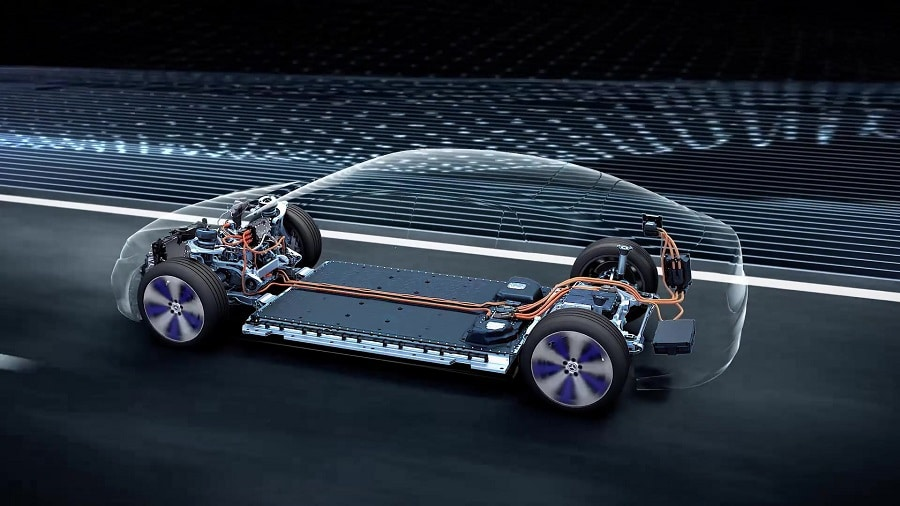 Mercedes 2030 batterie