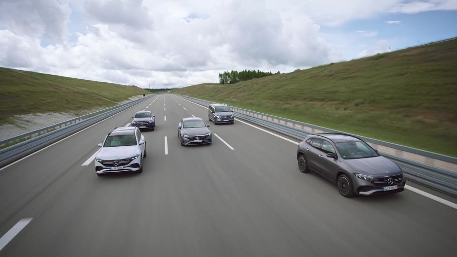 Mercedes 2030 gamma elettrificata