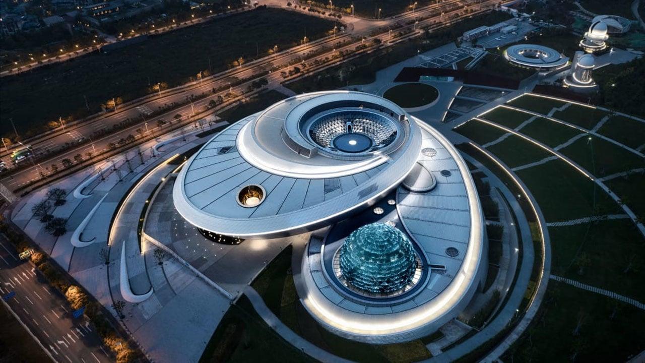 Apre il Museo di Astronomia di Shanghai, un capolavoro di design thumbnail