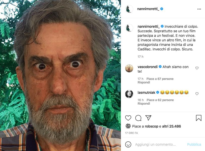 Nanni Moretti Cannes 2021
