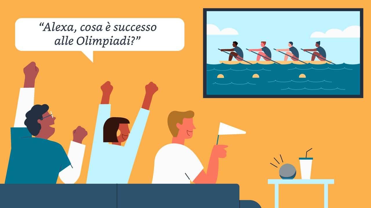 Come seguire le Olimpiadi di Tokyo con Alexa e Fire Tv Stick thumbnail