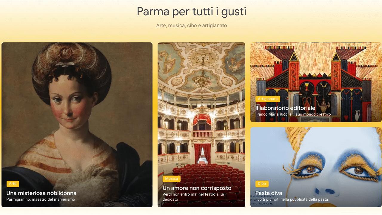 Parma Capitale italiana della Cultura: un viaggio tra le eccellenze del patrimonio grazie a Google Arts & Culture thumbnail