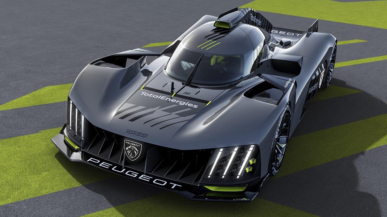 Peugeot 9X8 è la nuova auto da corsa della Casa francese: niente alettone per puntare alla 24 Ore di Le Mans thumbnail