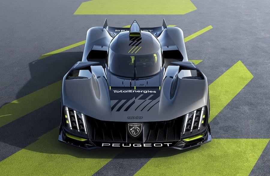 Peugeot 9X8 frontale