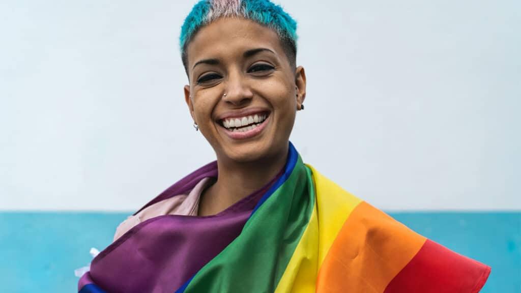Pulsee Pride Year arcobaleno