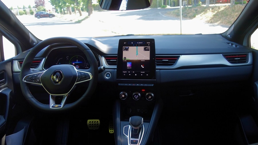 Renault captur ibrida interni