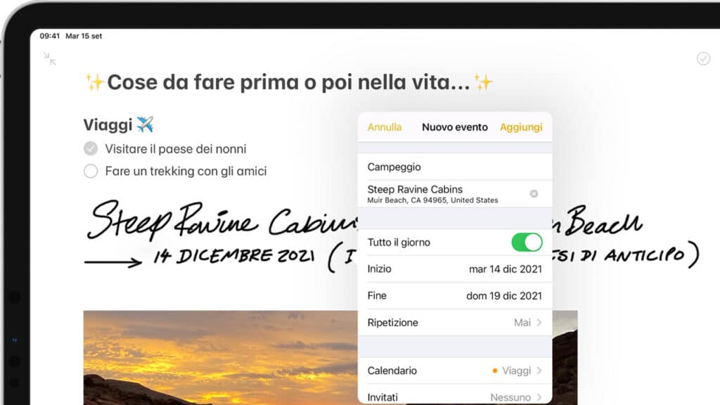 Rilevatori di dati iPadOS 14