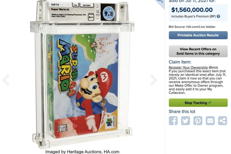 Super Mario 64 1.5 milioni