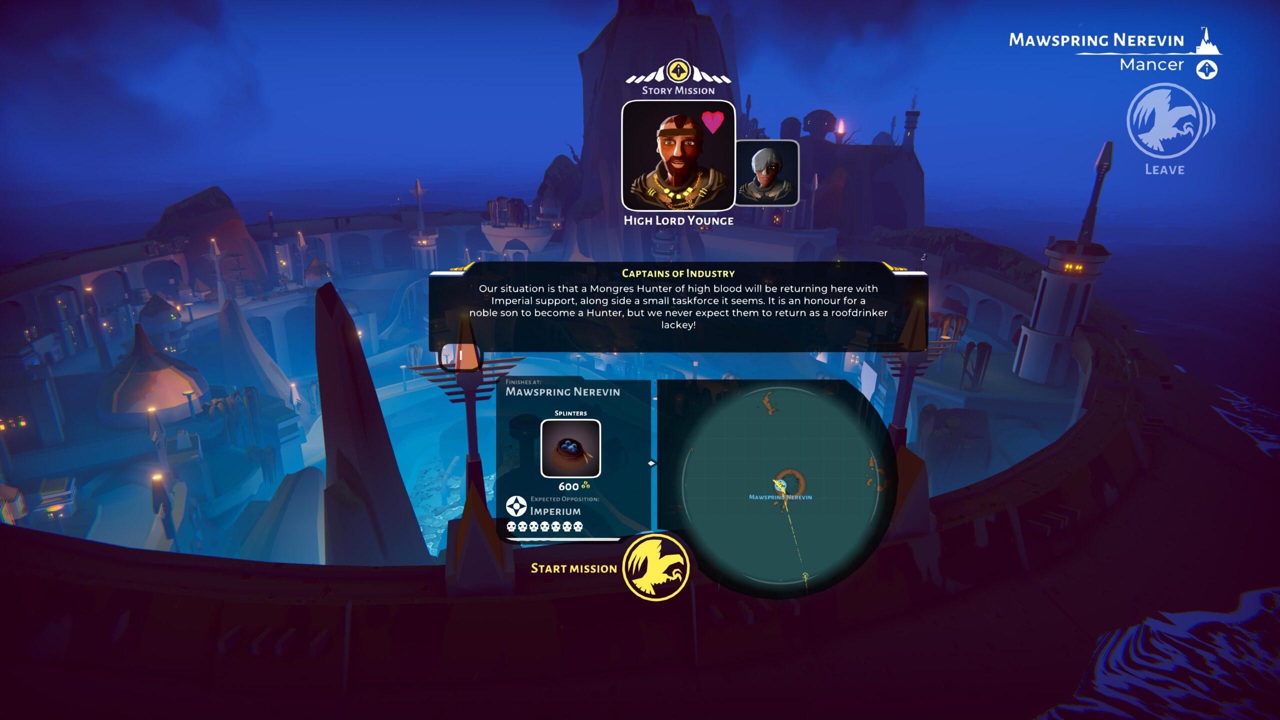 Edge of the World: prime immagini del nuovo DLC di The Falconeer thumbnail