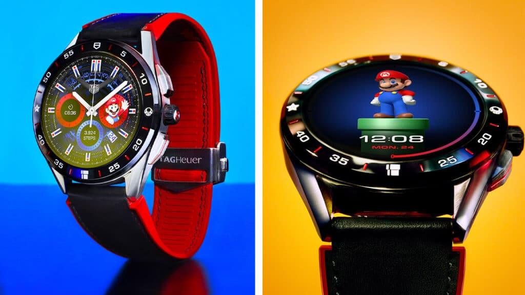 Smartwatch Super Mario TAG Heuer