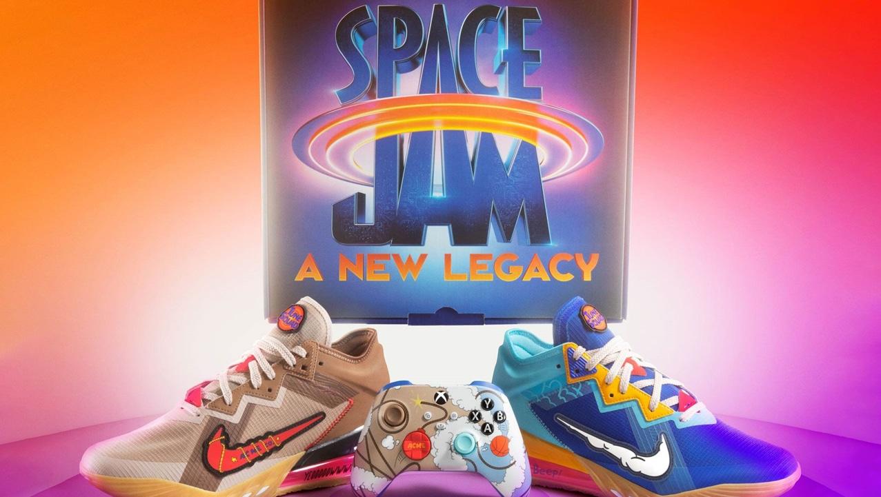 Xbox e Nike insieme per una box ispirata a Space Jam 2 thumbnail