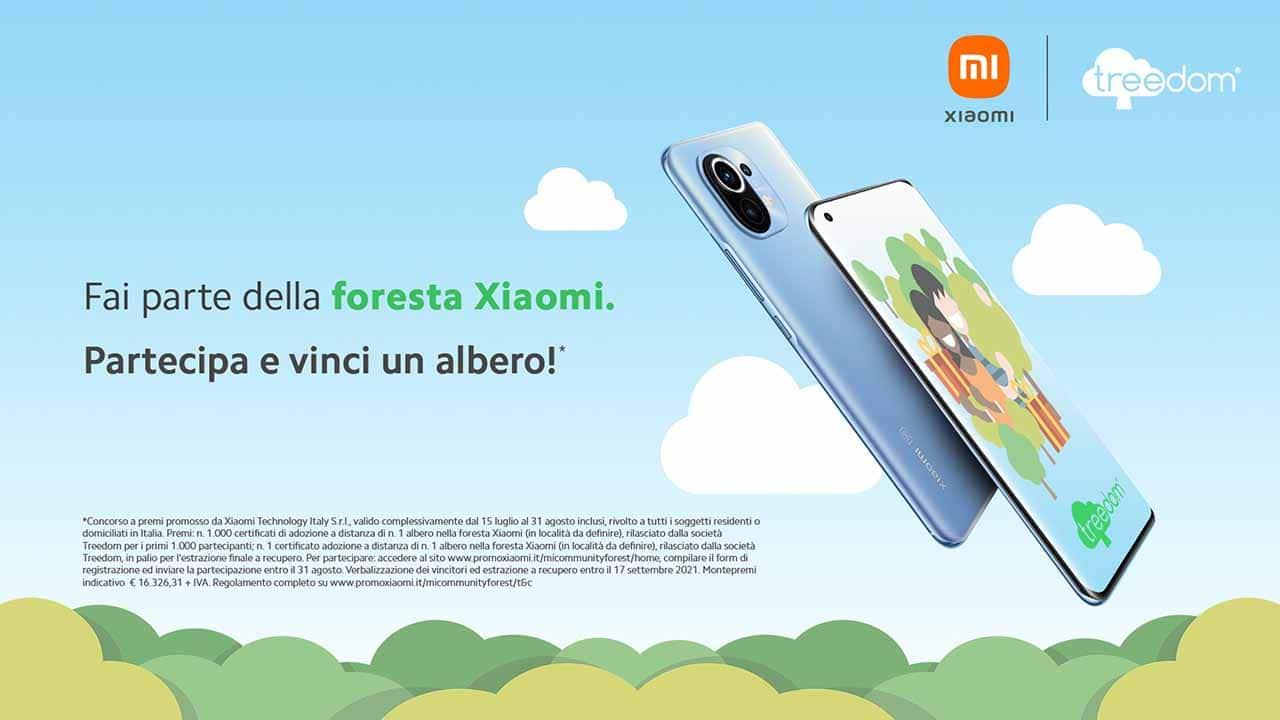 Xiaomi, nasce la prima foresta della Mi Community thumbnail