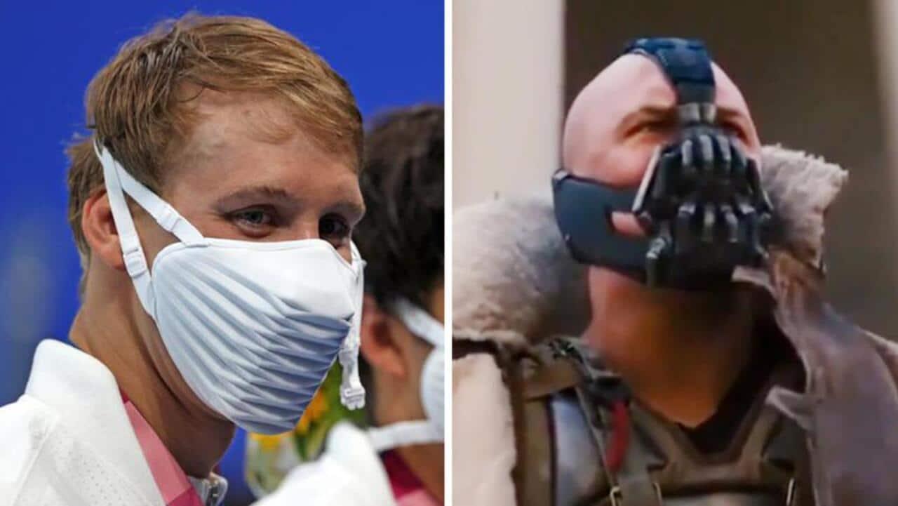 Tokyo 2020: le mascherine che trasformano gli atleti in villain di Batman thumbnail