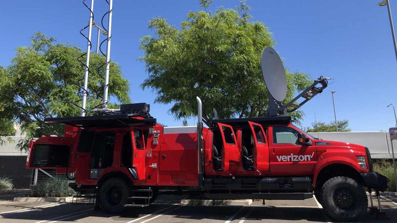 THOR, il veicolo di Verizon dotato di 5G che assiste i soccorritori thumbnail