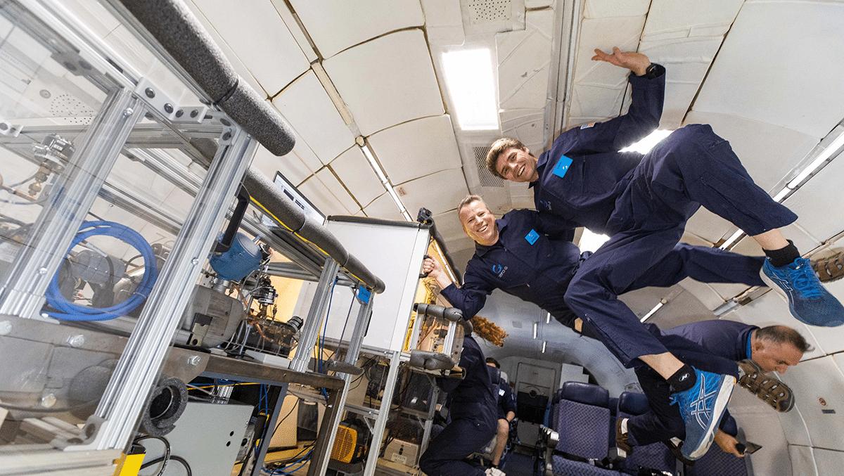 Whirlpool progetta un frigorifero a gravità zero per le missioni spaziali thumbnail