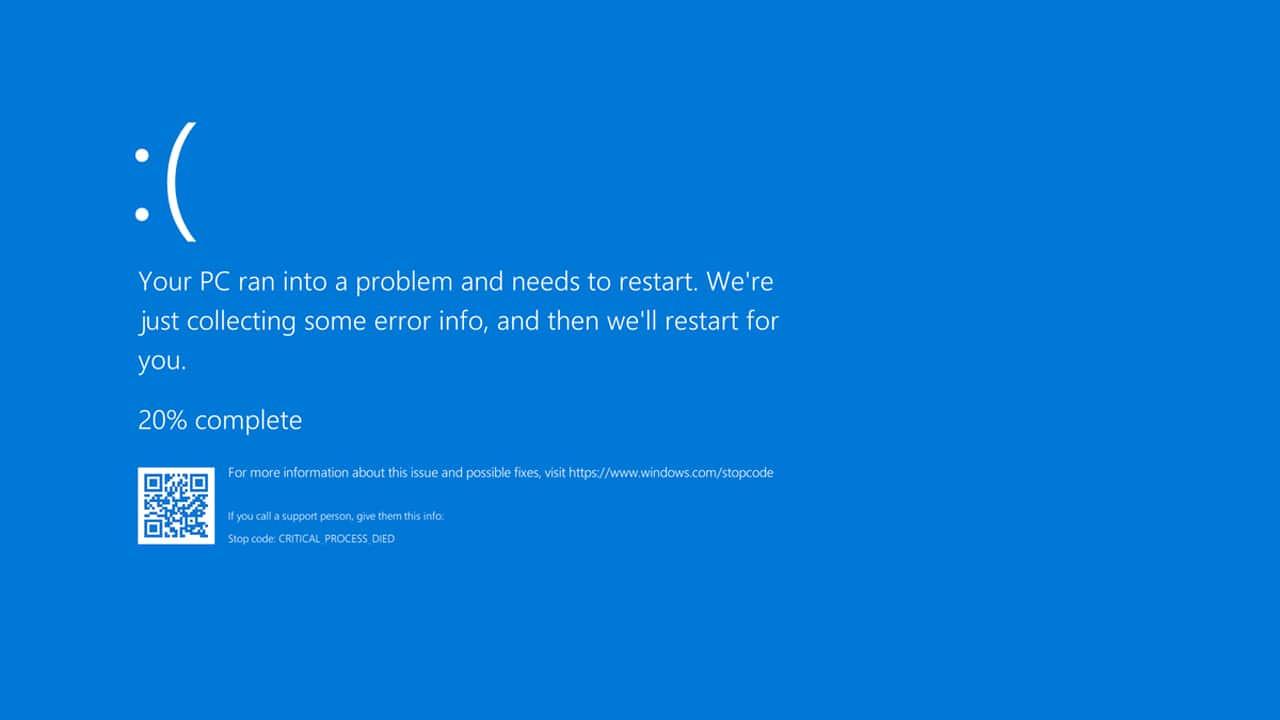 Microsoft cambierà l'iconico blue screen in Windows 11 thumbnail