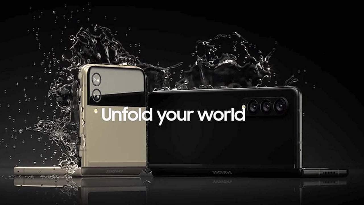 Svelate le prime immagini dei Galaxy Z Flip 3 e Z Fold 3 thumbnail