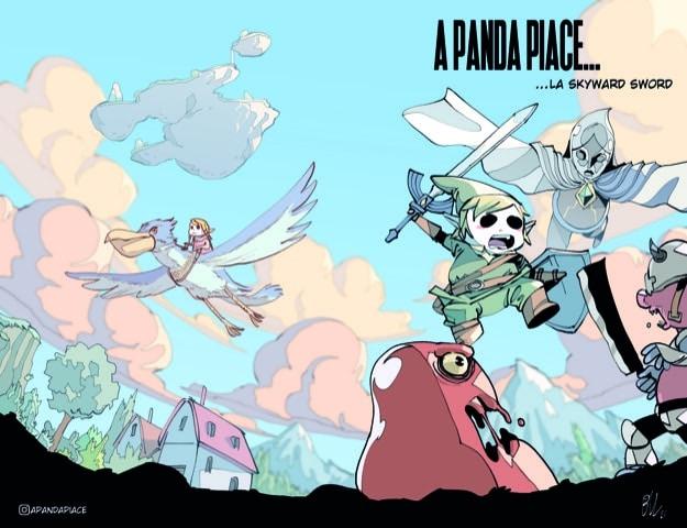 The Legend of Zelda: Skyward Sword HD A panda piace