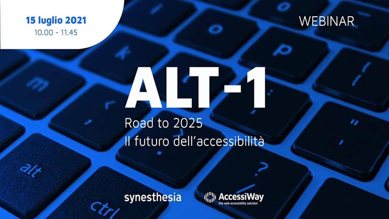Fare rete per un'informazione più inclusiva: l'accessibilità al web protagonista di ALT-1 thumbnail
