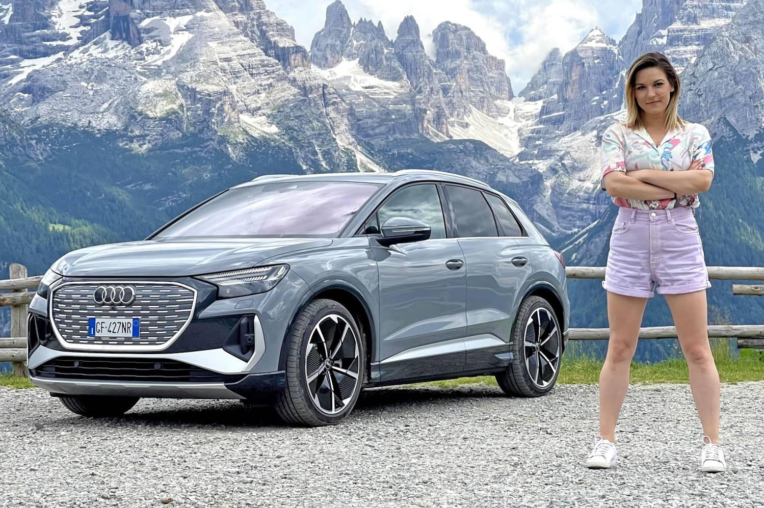 Audi Q4 e-tron: prova del SUV elettrico tra le curve del Trentino thumbnail