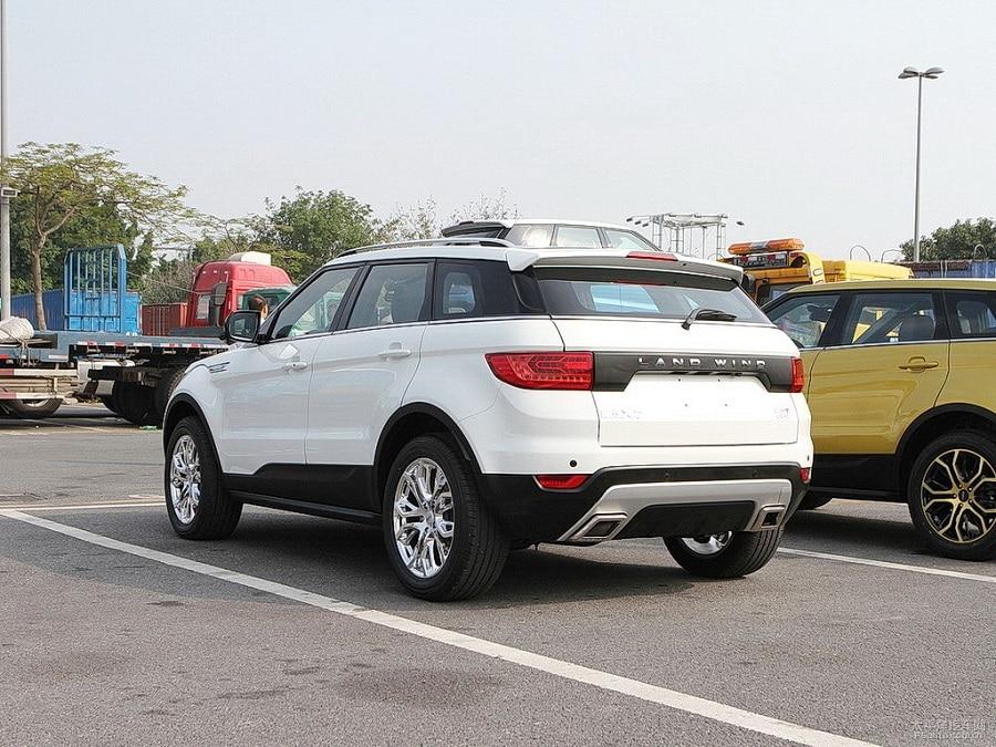 auto cloni landwind x7 posteriore
