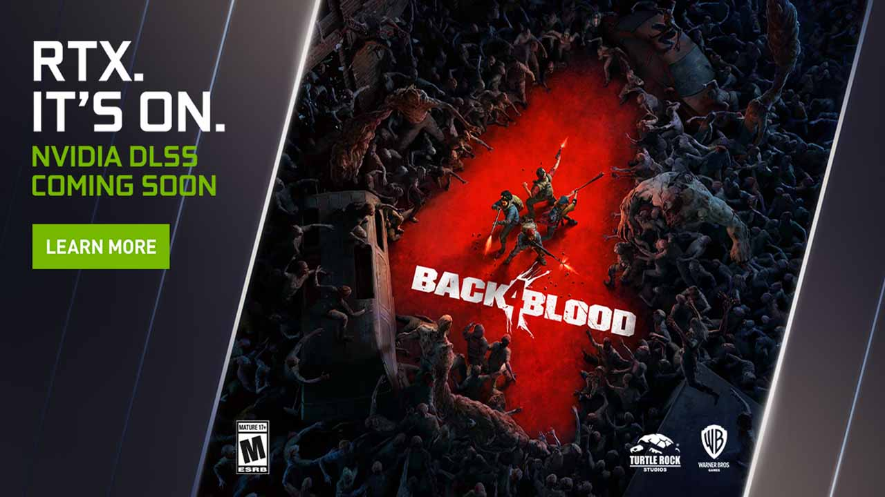 Back 4 Blood è il nuovo titolo a supportare il DLSS di NVIDIA thumbnail
