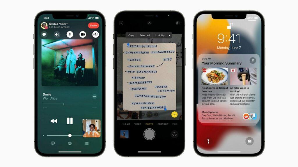 iOS 15 beta pubblica
