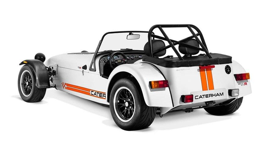 cabrio economiche caterham 275 posteriore