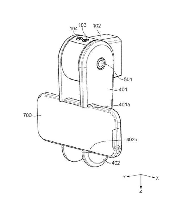 canon brevetto fotocamera obiettivo magnetico