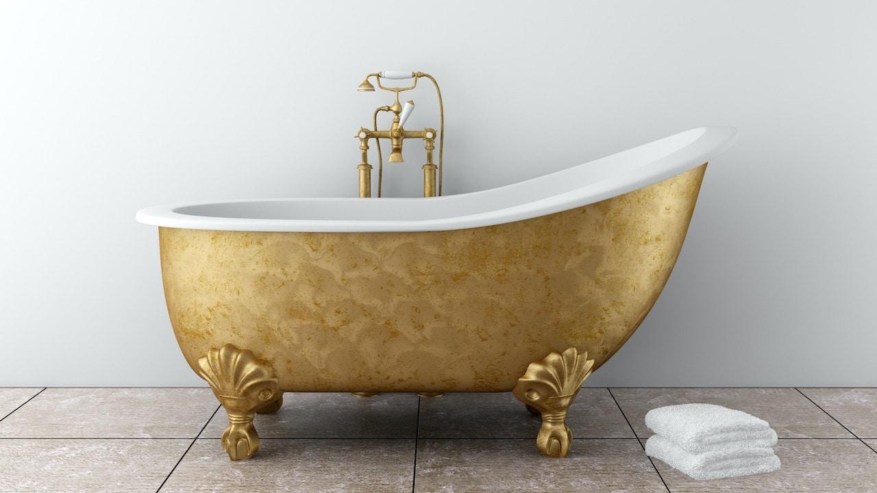 Come è cambiato: la vasca da bagno thumbnail