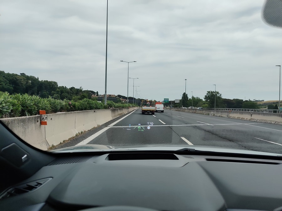 consigli viaggio auto 110 kmh