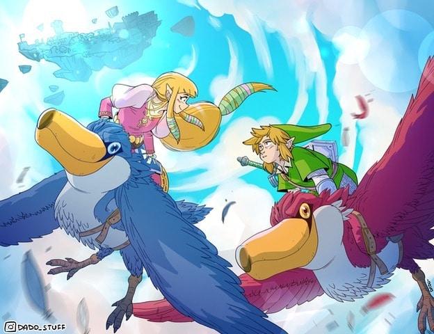 The Legend of Zelda: Skyward Sword HD variant cover Dado