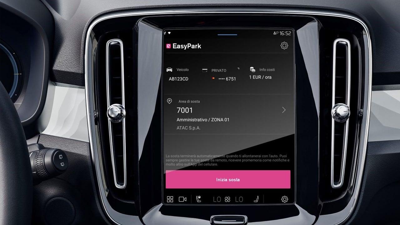 EasyPark e Volvo al lavoro per un servizio di pagamento automatico del parcheggio thumbnail