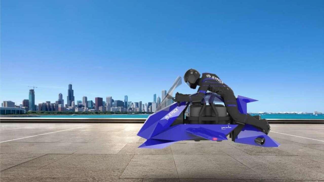 The Speeder: la prima motocicletta volante è quasi realtà thumbnail