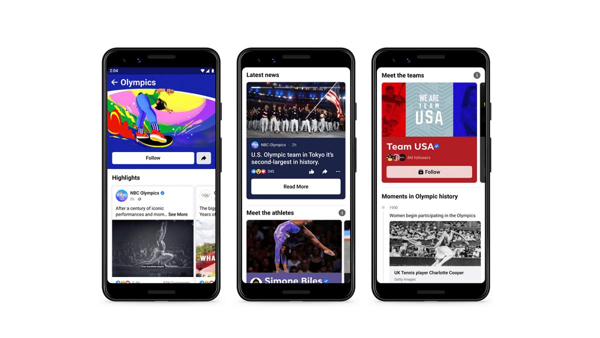 Olimpiadi Tokyo 2020: ecco le novità di Facebook, Instagram e WhatsApp thumbnail