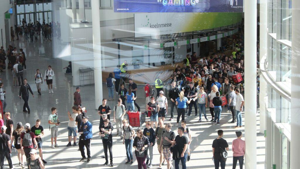 gamescom sviluppatori spettatori