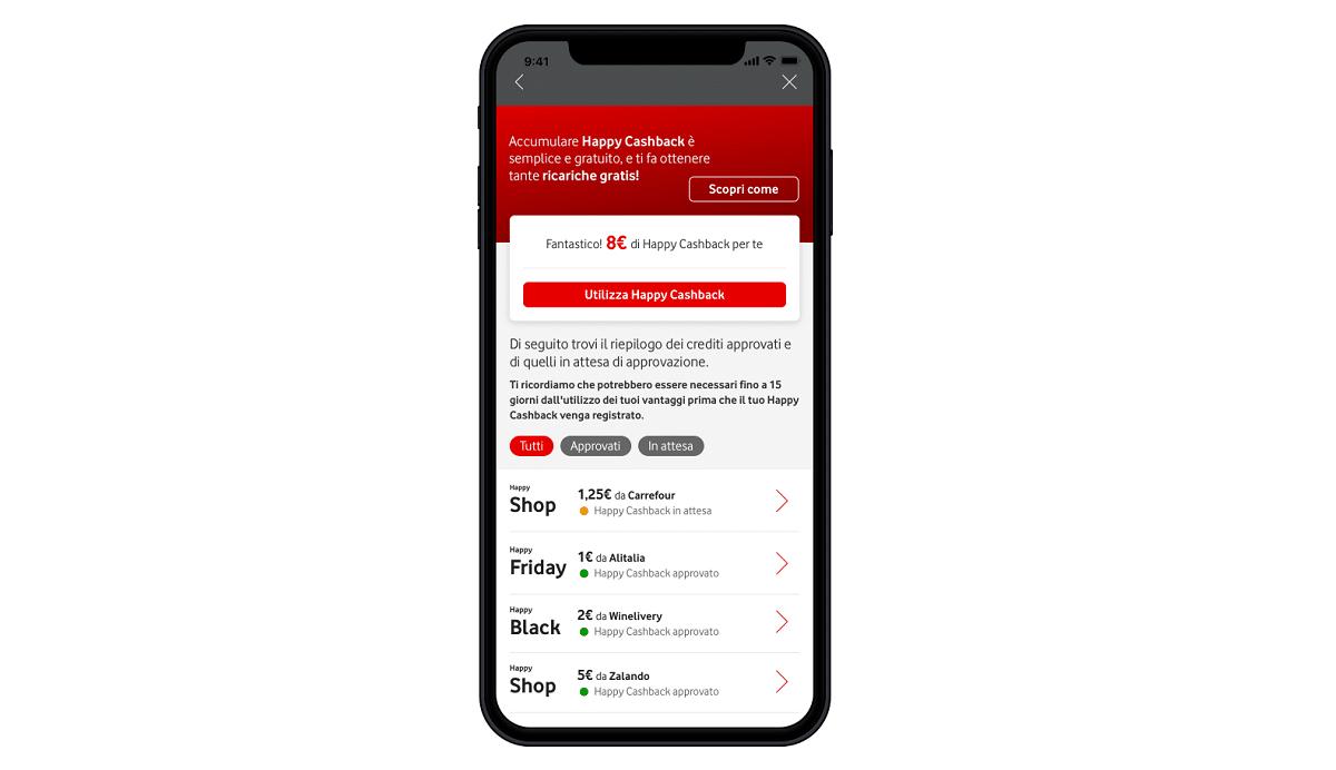 Vodafone presenta Happy Cashback ed Happy Shop thumbnail