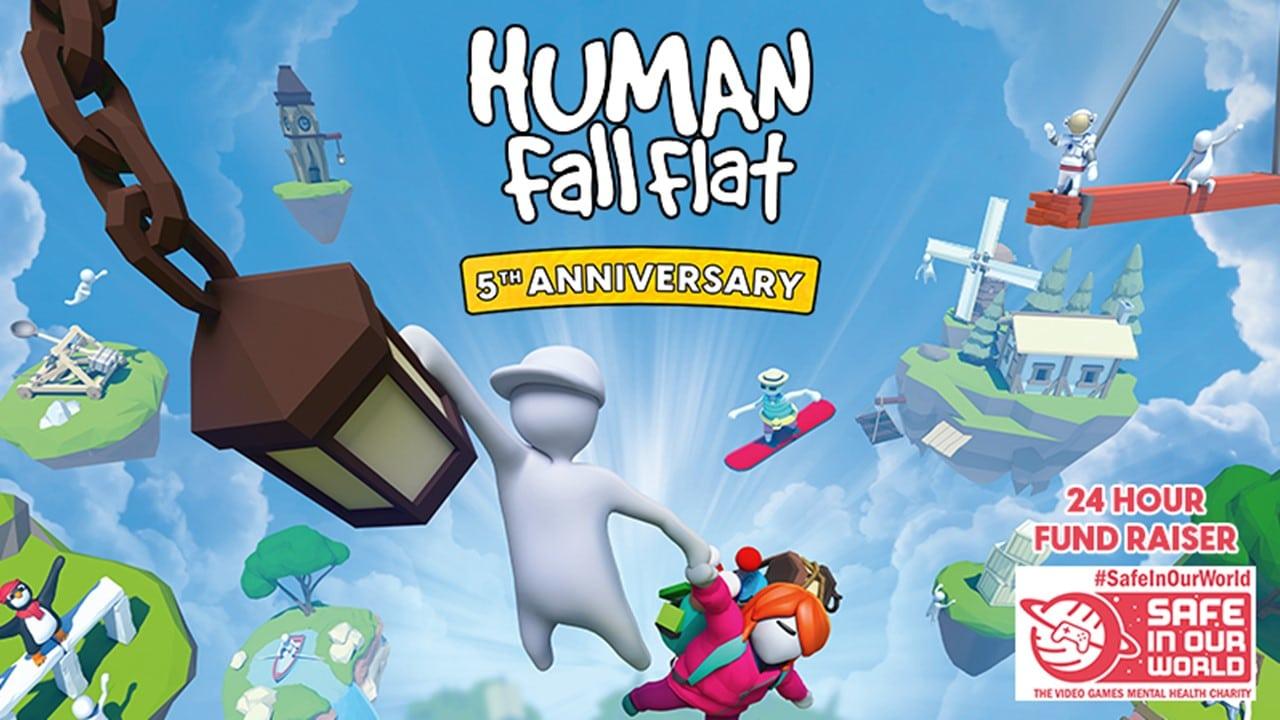 Human: Fall Flat celebra il quinto anniversario e oltre 30 milioni di copie vendute thumbnail