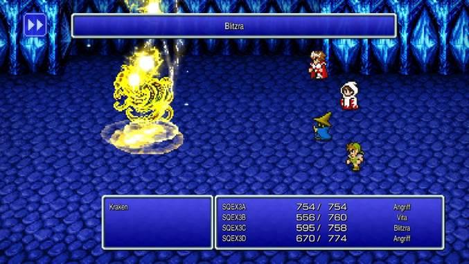 Final Fantasy: i primi tre capitoli tornano in vita come delle remaster in 2D thumbnail