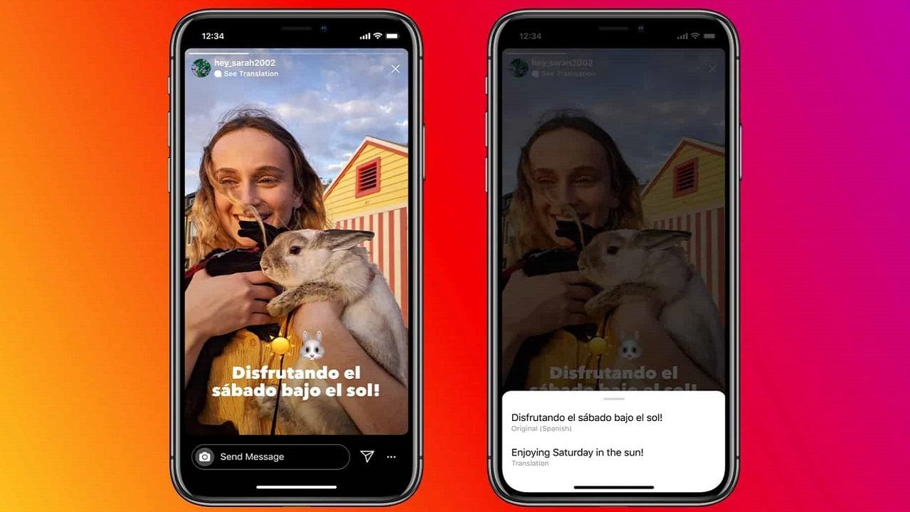 Instagram può tradurre i testi nelle Stories thumbnail