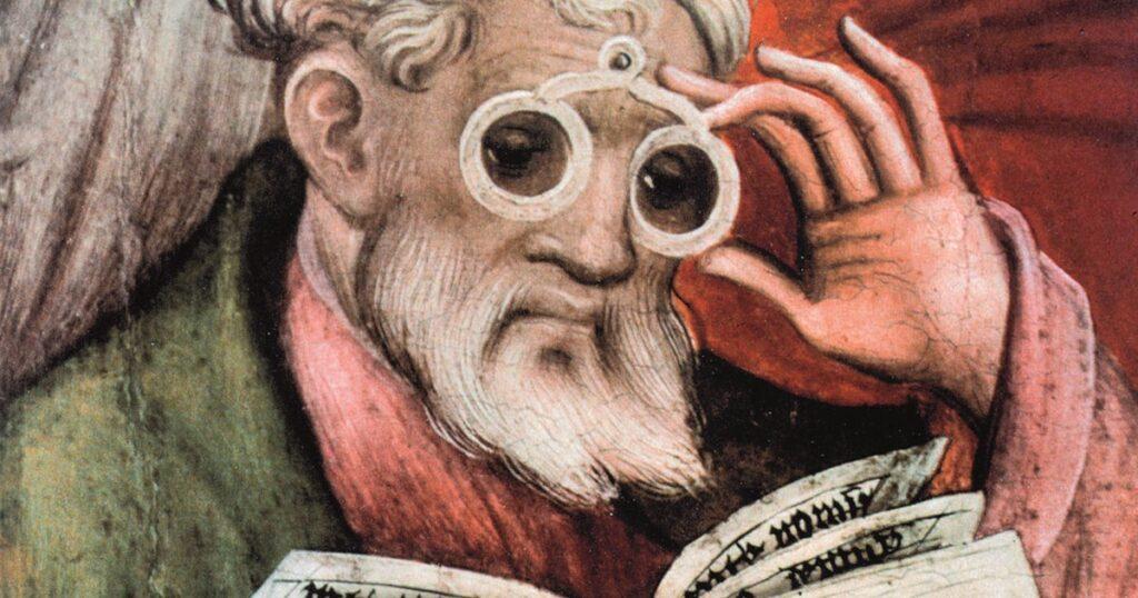 invenzione occhiali