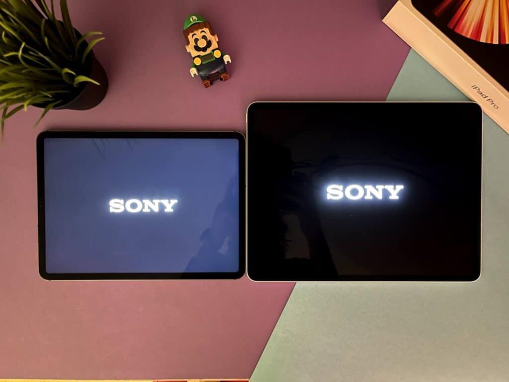 iPad display OLED