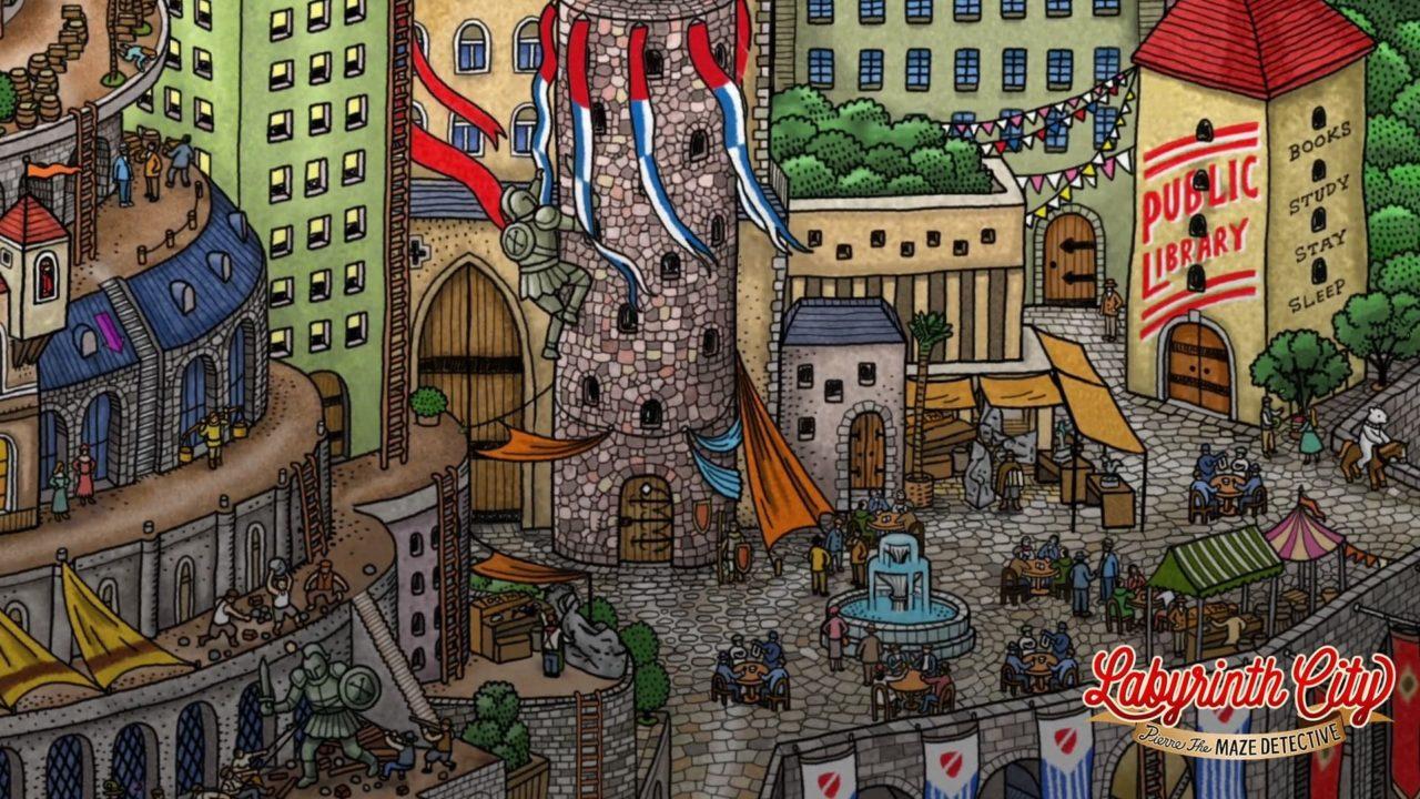 Labyrinth City: Pierre the Maze Detective è disponibile su Nintendo Switch thumbnail