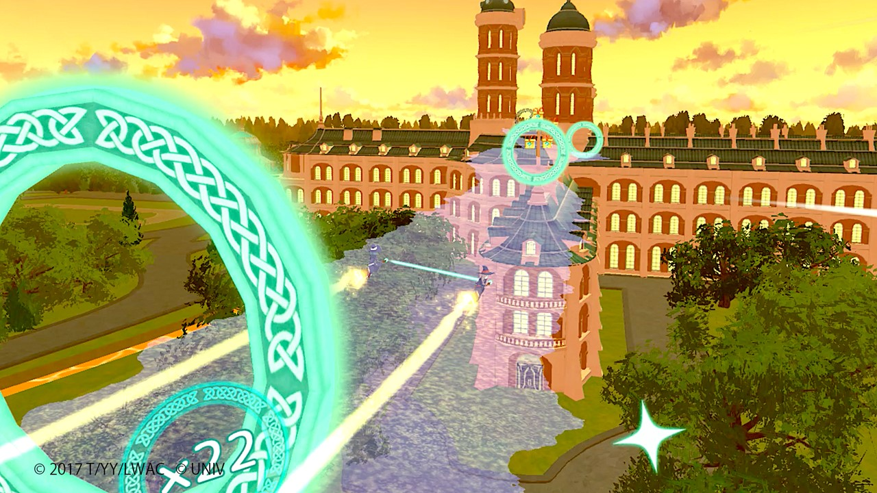 Little Witch Academia: VR Broom Racing, dall'anime Netflix al videogioco in Realtà Virtuale thumbnail