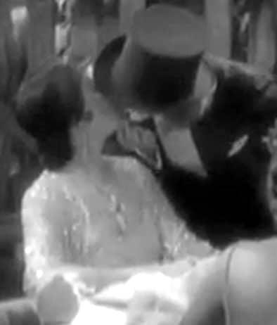 cinema bacio