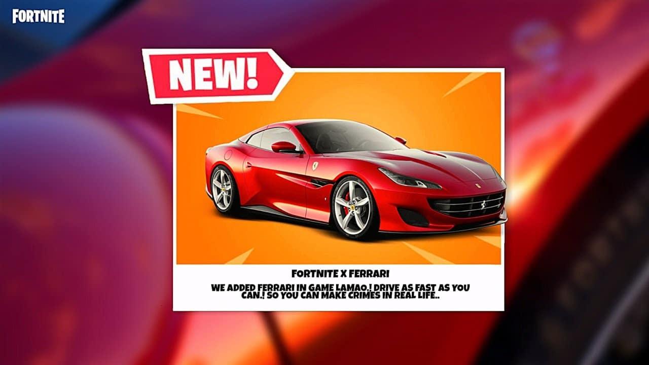 Fortnite e Ferrari avviano una nuova collaborazione: ecco i dettagli thumbnail