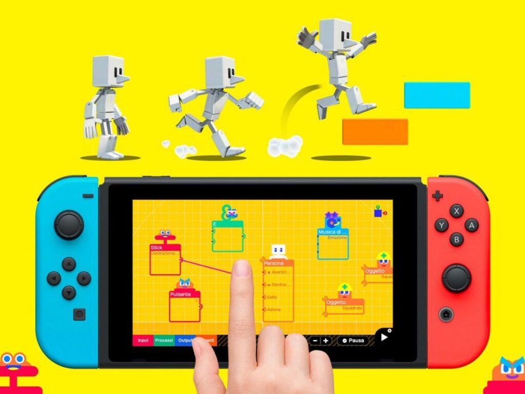 Laboratorio di Videogiochi arriva in edizione fisica su Nintendo Switch