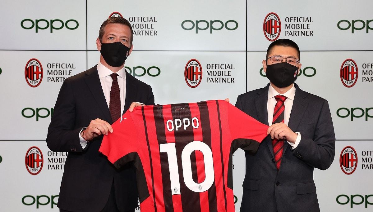OPPO è il nuovo Official Mobile Partner di AC Milan thumbnail